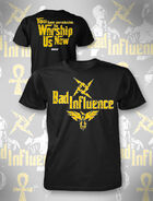 Bad Influence Yellow T-Shirt