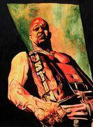 Stone Cold Steve Austin WrestleMania 32 11 x 14 Art Print