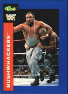 1991 WWF Classic Superstars Cards Bushwhackers 83