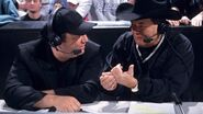 Jim Ross and Paul Heyman.2