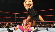 No Mercy 2007 Beth Phoenix vs Candice Michelle 004
