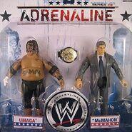 WWE Adrenaline Series 28 Vince McMahon & Umaga