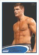 2012 WWE (Topps) Cody Rhodes 8