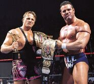 The British Bulldog and Owen Hart.1