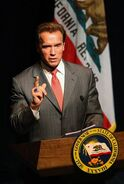 Arnold Schwarzenegger as California Governor