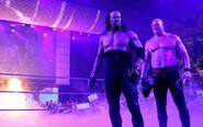 Image. Undertaker and Kane ring