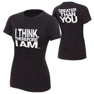 Damien Sandow I Think Therefore I Am Women's T-Shirt