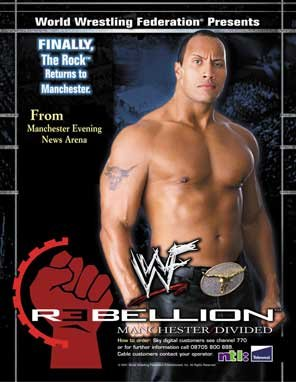 Image result for wwf rebellion 2001