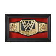 Replica WWE Championship Display