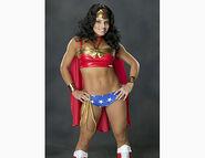 2005 Trish Stratus as Wonder Woman