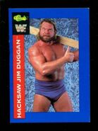 1991 WWF Classic Superstars Cards Hacksaw Jim Duggan 126