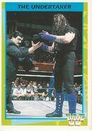 1995 WWF Wrestling Trading Cards (Merlin) Undertaker 73