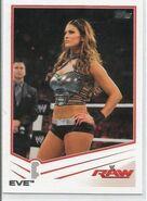 2013 WWE (Topps) Eve 15