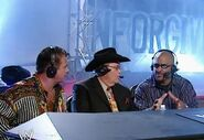 Jim Ross, Jerry Lawler & Jonathan Coachman