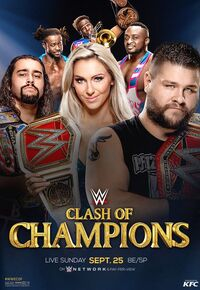 Clash of Champions 2016 poster