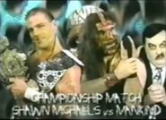 Shawn Michaels vs Mankind