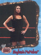 2002 WWE Absolute Divas (Fleer) Stephanie McMahon 25
