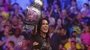 AJ becomes the divas champion
