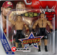 Brock Lesnar & John Cena WWE Battle Packs SummerSlam 2016