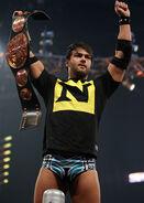 Justin Gabriel as Tag Team Champion