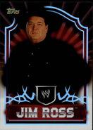 2011 Topps WWE Classic Wrestling Jim Ross 30