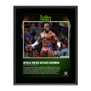 Apollo Crews Money In The Bank 2016 10 x 13 Photo Plaque