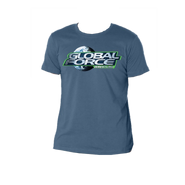 Global Force Wrestling YOUTH Slate Blue Tee