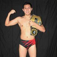 Rayo Hop cruiserweight champion
