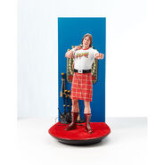 Rowdy Roddy Piper Immortal Moments Collection Statue