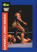 1991 WWF Classic Superstars Cards Superfly Jimmy Snuka 18