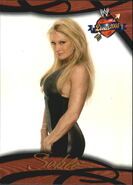 2004 WWE Divas 2005 (Fleer) Sable 50