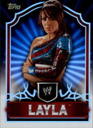 2011 Topps WWE Classic Wrestling Layla 42