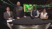 Josh Mathews, The Big Show, Kofi Kingston & Vickie Guerrero - Money in the Bank 2013 panelist team
