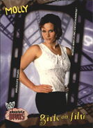 2002 WWE Absolute Divas (Fleer) Molly 99