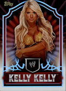 2011 Topps WWE Classic Wrestling Kelly Kelly 40