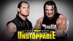 NXT Takeover V - Baron Corbin vs. Rhyno