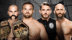 NXT BTB The Revival v Gargano & Ciampa