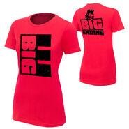 Big E Langston Big Ending womens T-Shirt