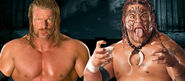 Triple H v Umaga No Mercy 2007