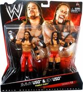 WWE Battle Packs 11 Jimmy Uso & Jey Uso