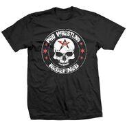 AAW Wrestling Skull T-Shirt