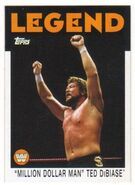 2016 WWE Heritage Wrestling Cards (Topps) Ted DiBiase 91
