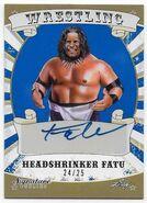 2016 Leaf Signature Series Wrestling Headshrinker Fatu 31