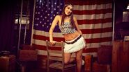 Brie Bella July 4th WWE Photo Shoot