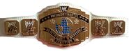 WWE IC white strap