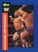 1991 WWF Classic Superstars Cards Hacksaw Jim Duggan 6
