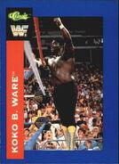 1991 WWF Classic Superstars Cards Koko B. Ware 94