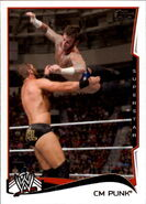 2014 WWE (Topps) CM Punk 12