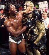 Booker T and Goldust