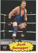 2012 WWE Heritage Trading Cards Jack Swagger 18